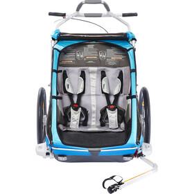 Thule Chariot CX2 Trailer blue